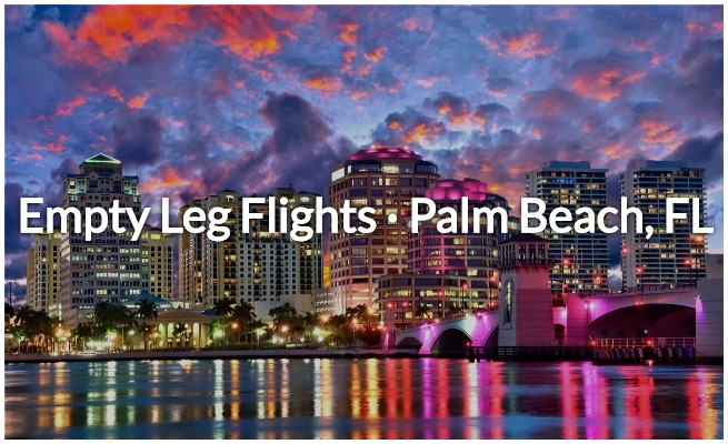 deals on empty legs in west palm beach